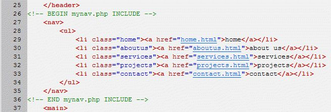 How To Call a menu file with PHP - HTML & CSS - The SitePoint Forums