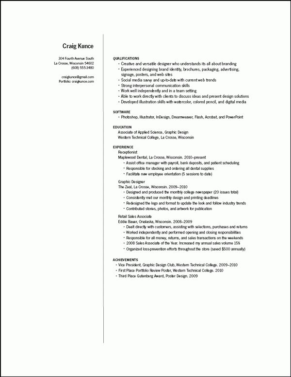 information architecture graphic design resume samples great ...