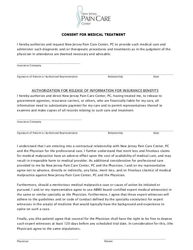 Counseling Consent Form Template - Contegri.com