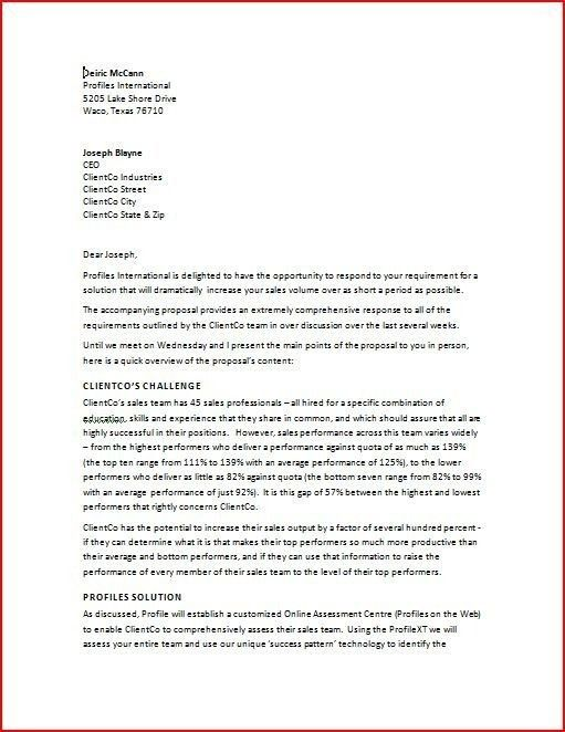 Professional Business Letter. Business Invitation Letter Sample ...