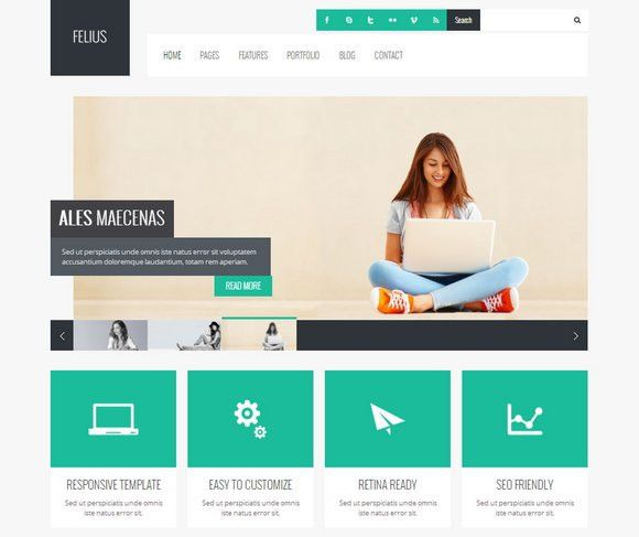 40 Free and Premium Business WordPress Themes - XDesigns