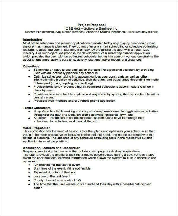 Engineering Proposal Templates - 8 Free Documents in Word, PDF