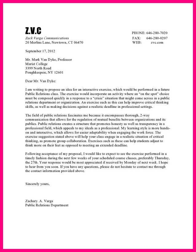 11 examples of business letter