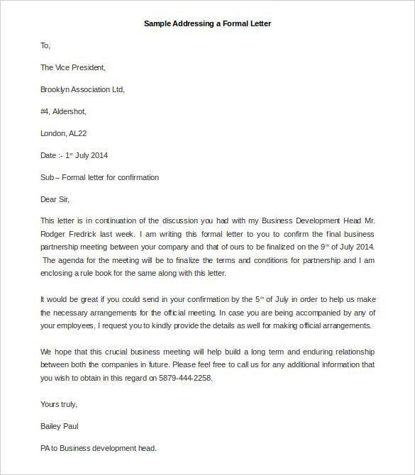 Best 25+ Format of formal letter ideas on Pinterest | Formal ...
