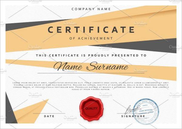 Best Training Certificate Templates || Free & Premium | Creative ...