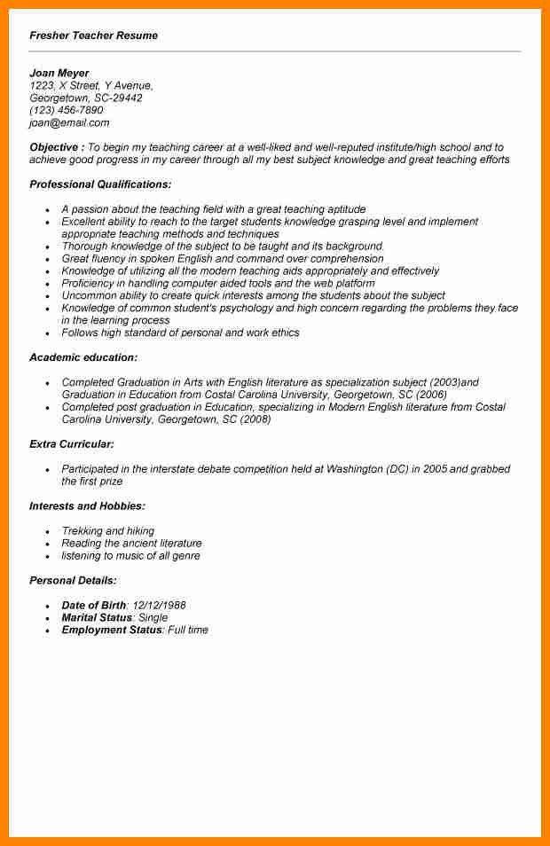 resumes format for teachers teacher resume samples writing guide