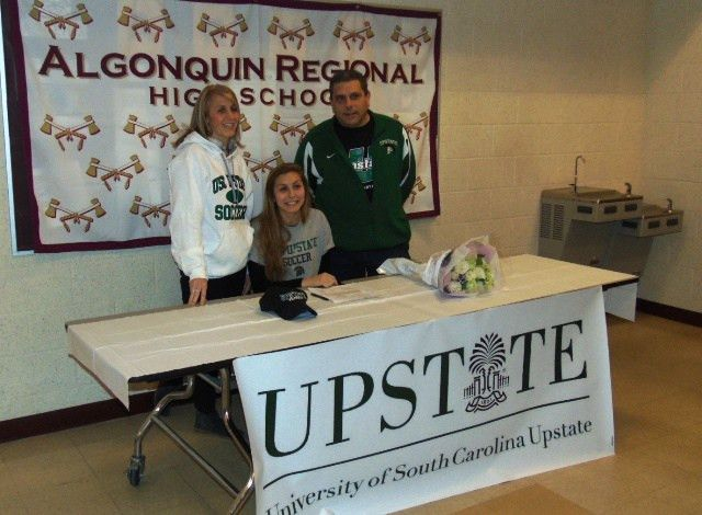 Three Algonquin students participate in National Letter of Intent ...