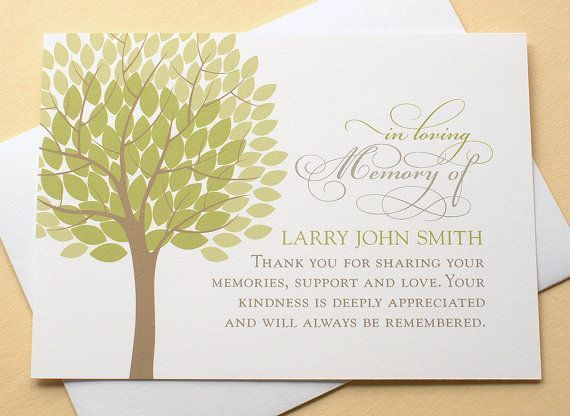 14 best funeral thank you verses...cards images on Pinterest ...