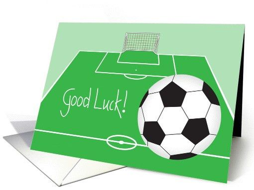 Good Luck With Your Sporting Event Cards from Greeting Card Universe