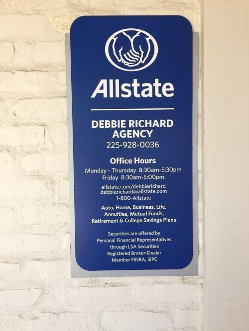 Get an Allstate Auto Insurance Quote - Debbie Richard, Baton Rouge LA