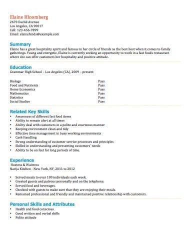 Download Teen Resume Template | haadyaooverbayresort.com