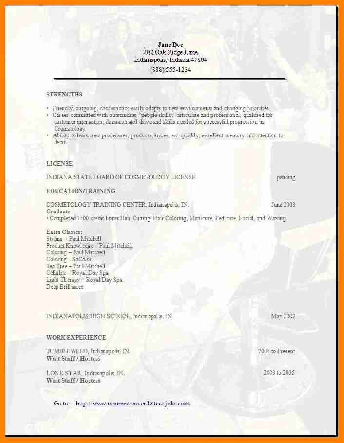 12+ cosmetology resumes examples | catering resume