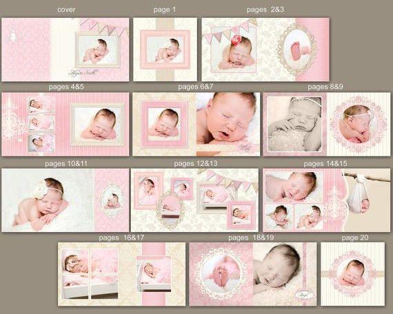 163 best Templates images on Pinterest | Album design, Baby album ...