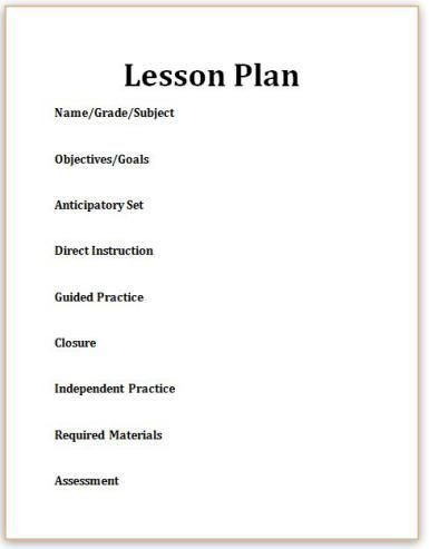 Best 20+ Madeline hunter lesson plan ideas on Pinterest | Material ...