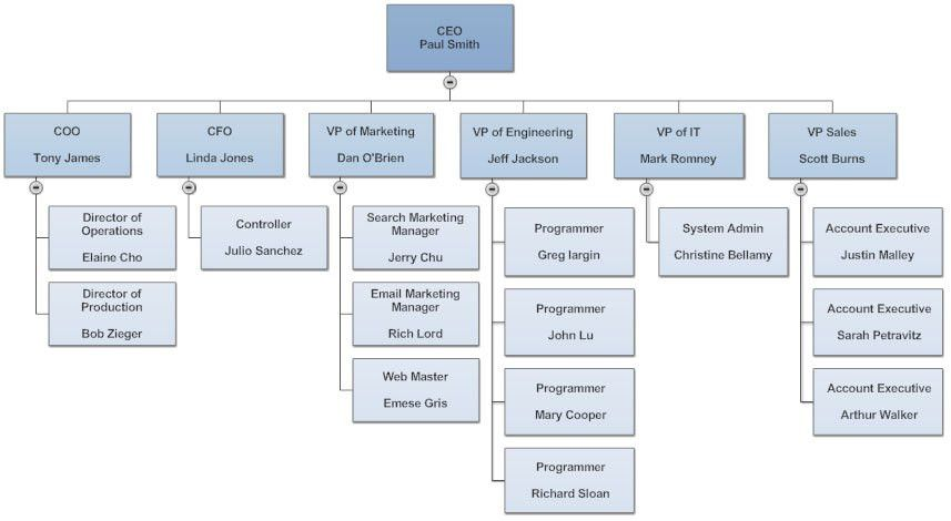 Organizational Chart - What is an Organization Chart? Types, Tips ...