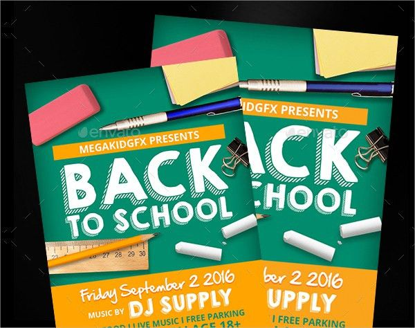 19+ School Flyer Templates - Free PSD, AI, Vector, EPS Format ...