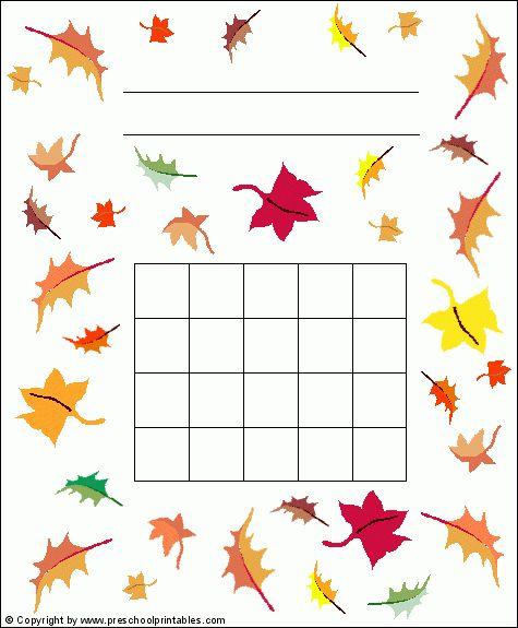 Preschool Printables : Sticker Charts
