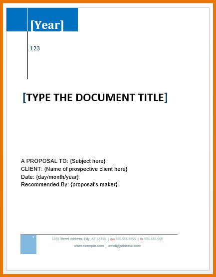 Microsoft Word Letter Template.Grant Proposal Template.png | Scope ...