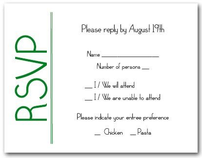 Wedding Response Cards Printing UK | Print RSVP Card London