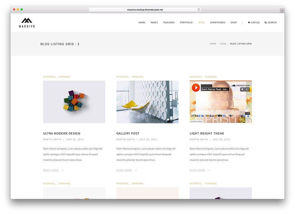 15 Best Responsive HTML5/CSS3 Blog Templates 2017 - Colorlib