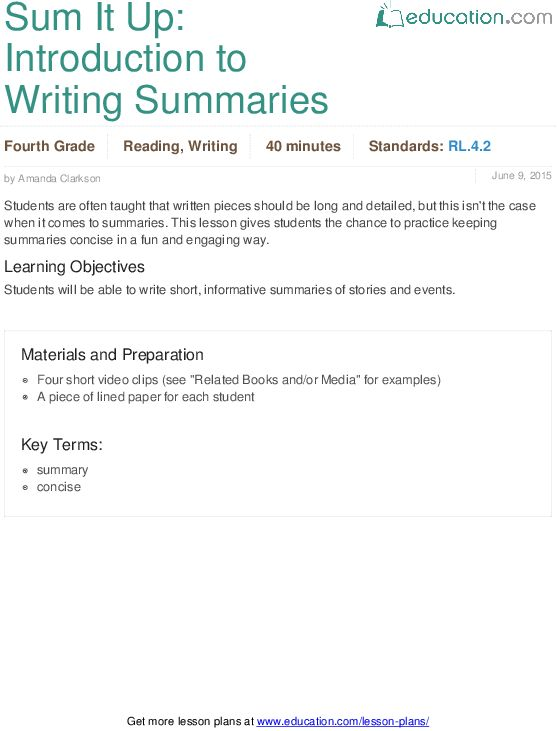 Author's Purpose: Easy as PIE | Lesson Plan | Education.com