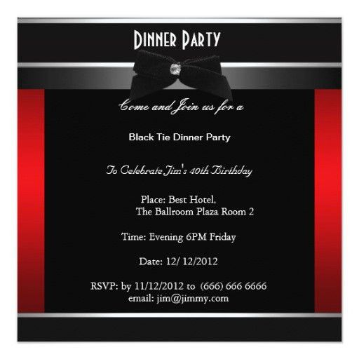 Impactful Free Dinner Party Invitation Especially Luxury Article ...