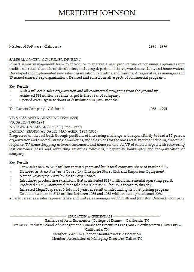 opening resume statement