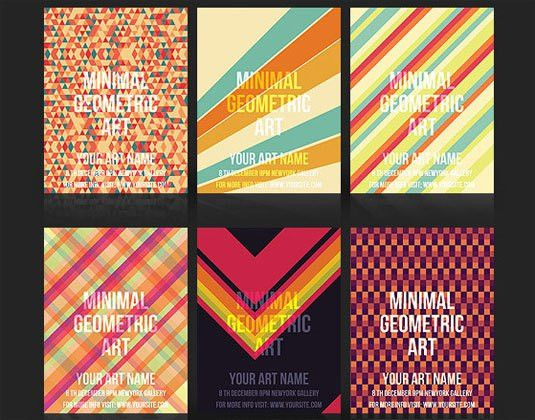 flyer templates: geometric | flyers, catalogues | Pinterest ...