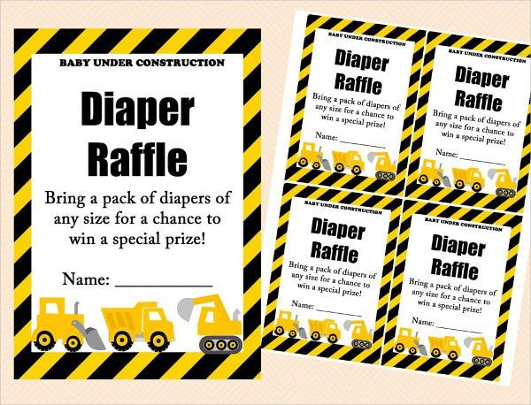 Printable Raffle Ticket Template - 15+ Free Word, Excel, PDF ...