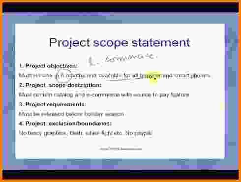Scope Statement Examples.project Scope Statement 1 728.jpg?cb ...