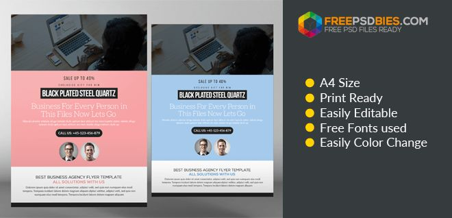 Accounting and Bookkeeping Services Flyers Free Psd Template ...