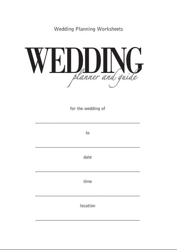 Printable Wedding Planning Checklist for DIY Brides | Weddings ...