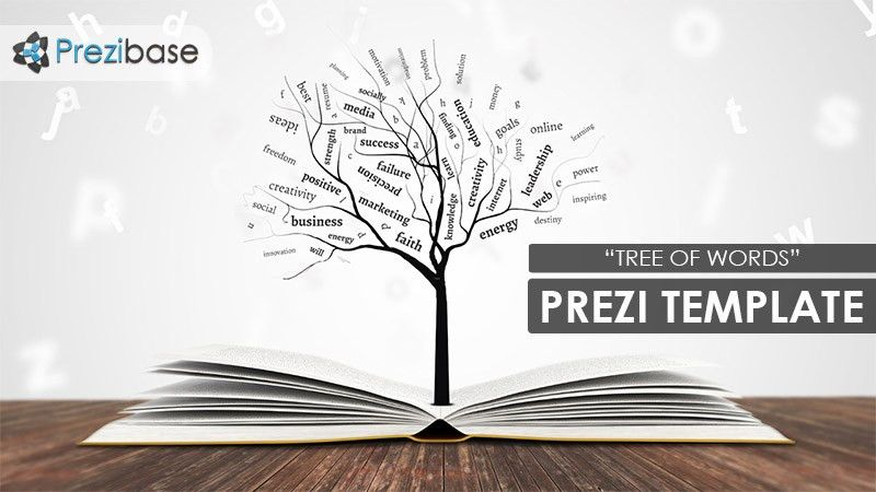 Tree of Words Prezi Template | Prezibase