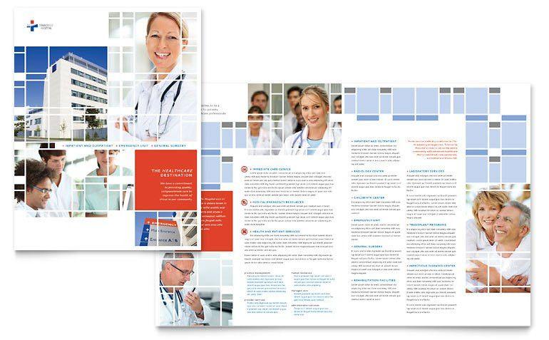 Hospital Brochure Template - Word & Publisher