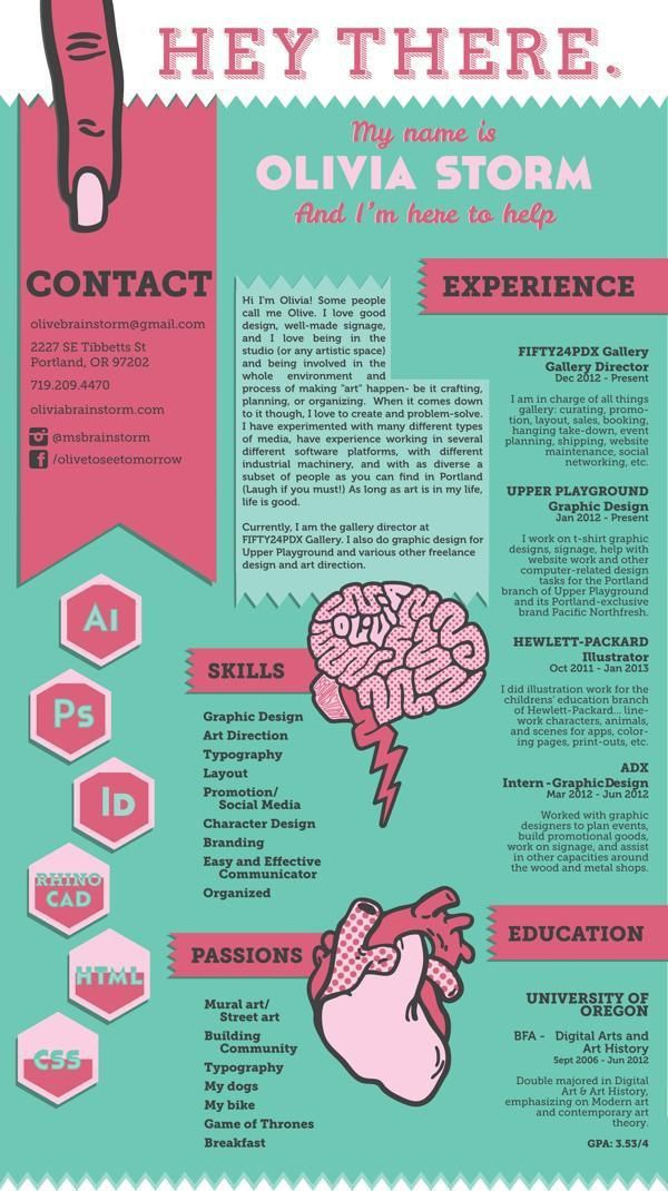 103 best Creative CV~ images on Pinterest | Resume ideas, Cv ideas ...