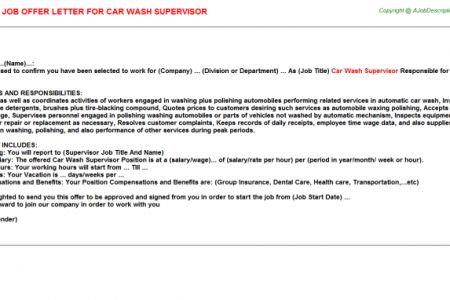 Car Wash Resume Sample. car wash cv work experience samples ...