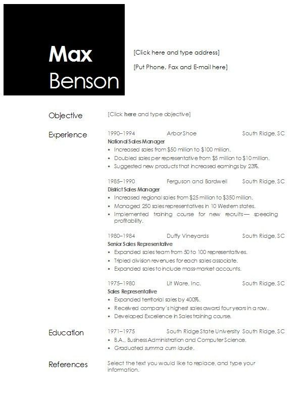 resume templates microsoft word 2015 easy writing detail ideas ...