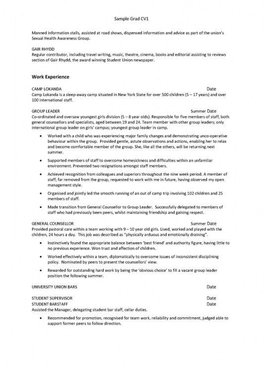 First Job Resume. Resume Templates Teenager How To Write Cv For ...