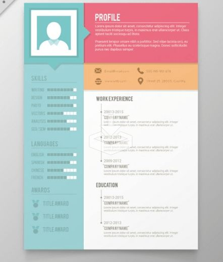 Download 35 Free Creative Resume / CV Templates - XDesigns