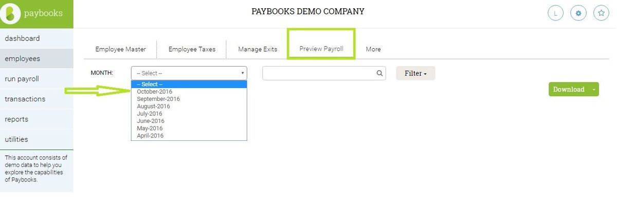 How to download pay slips in PDF format? : Help Center