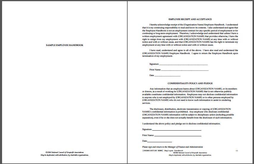 Employee Handbook Template - vnzgames