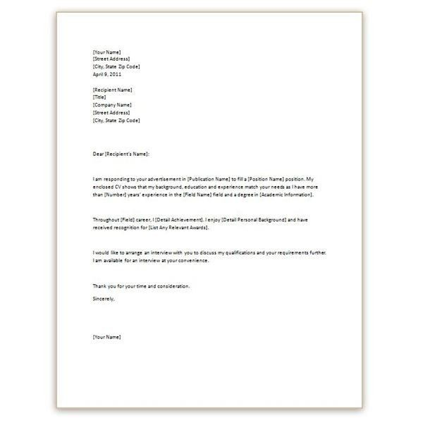 Cover Letter Resume Example. Writing An Excellent Cover Letter Bit ...