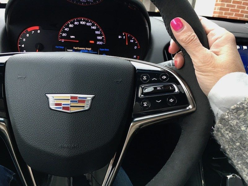 May I Have My Breath Back Please? | SheBuysCars | Cadillac ATS-V