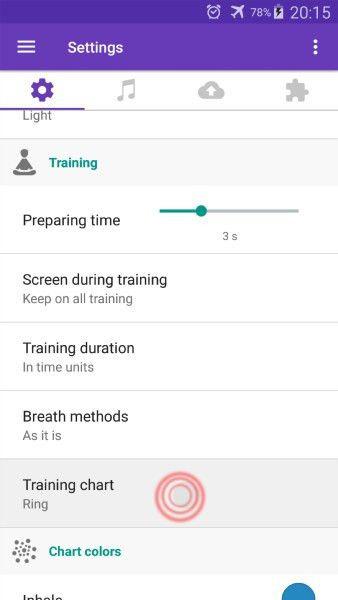 Settings tab - Wiki | Prana Breath