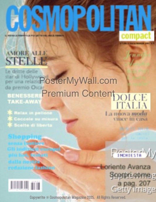 Cosmopolitan Magazine Cover template | PosterMyWall