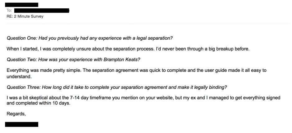 Binding Financial Separation Agreement Template | By BK