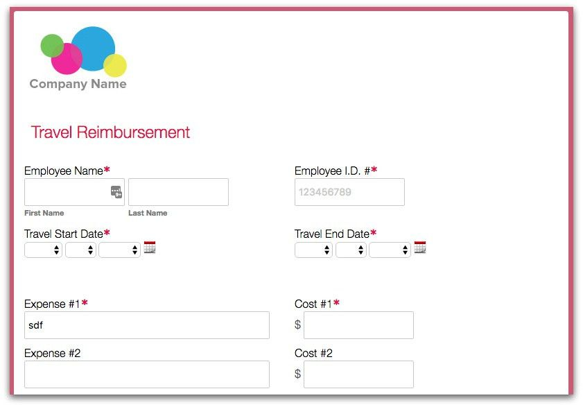 Setting Up an Expense Reimbursement Process · Formstack Blog