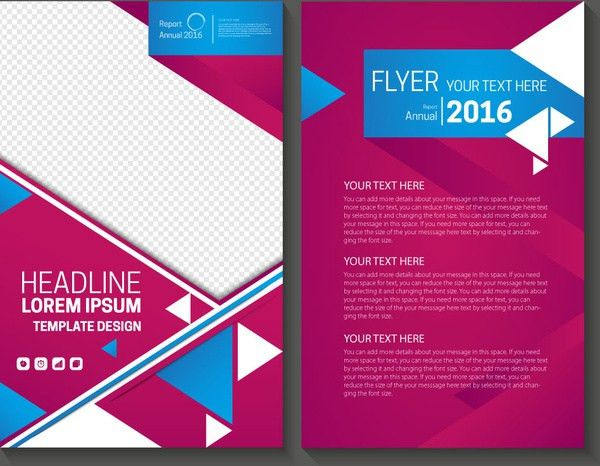 Annual report cover template free vector download (15,879 Free ...