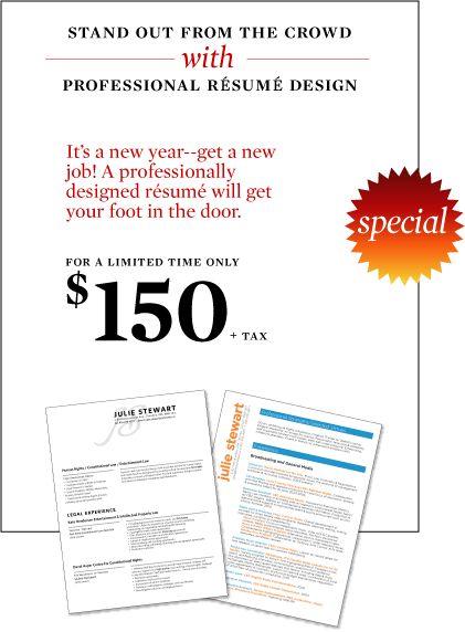 Resume Design Packages – Triggers & Sparks