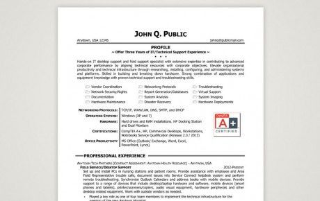 It Support Resumes. it technical support resume. network engineer ...